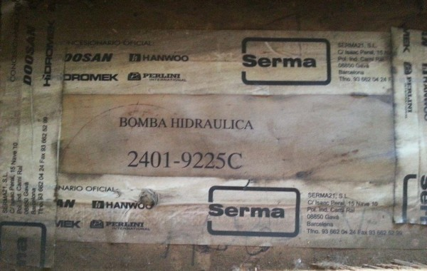 BOMBA HIDRAULICA PRINCIPAL S220LC-V